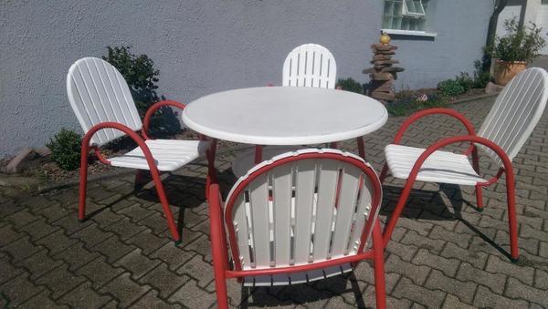 Kleingarten Garten Tisch Terassenmöbel Garnitur In Ettlingen