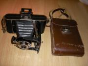 Kodak Junior 620 Ledertasche Rollfilmkamera