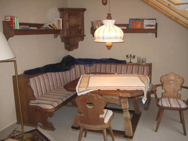 komplette essecke von voglauer m bel modell anno 1600 in. Black Bedroom Furniture Sets. Home Design Ideas