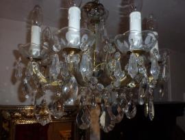Kristalllüster antik Lampe Lüster Leuchter: Kleinanzeigen aus München - Rubrik Lampen