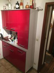 Küchenbuffet 120x187x44 Rot-
