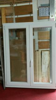 Kunststofffenster weiß 119cm