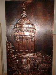Kupferbild Mannheim Wasserturm