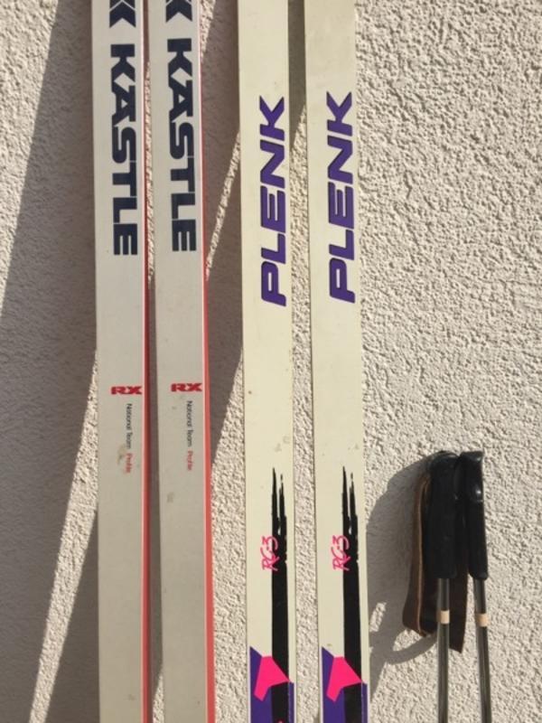 Langlauf Ski 2 Paar Kästle