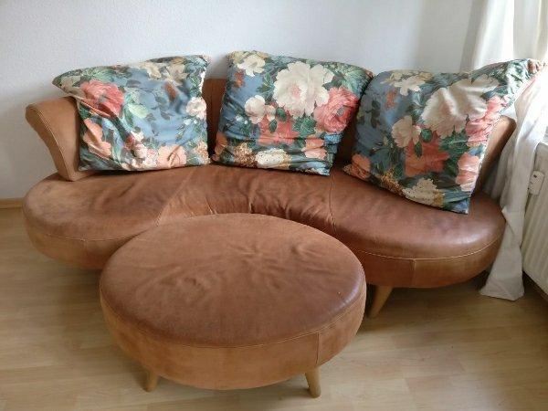 ledersofa creme gebraucht kaufen nur 3 st bis 65 g nstiger. Black Bedroom Furniture Sets. Home Design Ideas