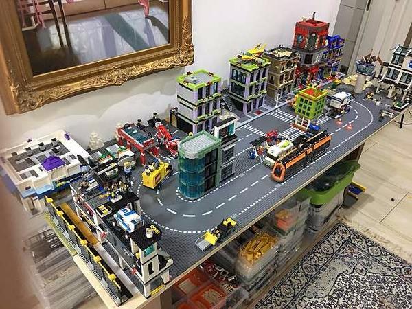 lego city komplette stadt in b rnsen spielzeug lego playmobil kaufen und verkaufen ber. Black Bedroom Furniture Sets. Home Design Ideas
