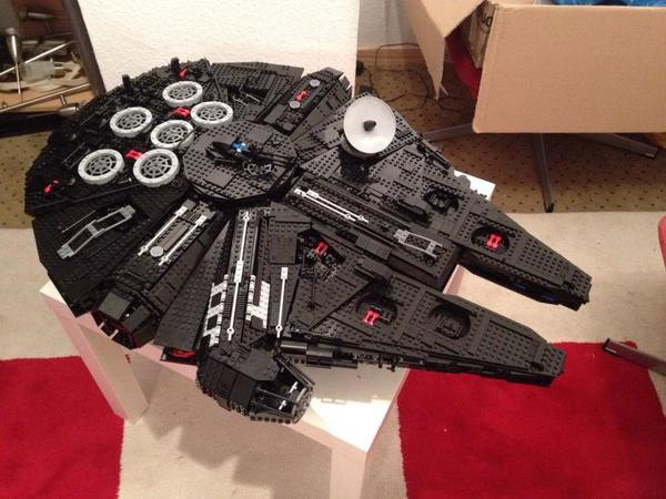 Lego star wars millennium falcon in münchen