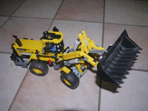 Lego technik frontlader gelb in burgthann spielzeug lego
