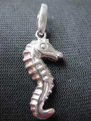 Lucky Charm Anhänger Seepferd aus