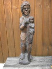 Madonnenfigur mit Jesus Kind