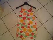Mädchen Sommerkleid Gr 134 140