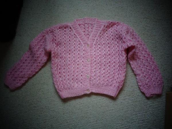 Mädchenjacke, Mädchenstrickjacke Strickjacke » Kinderbekleidung