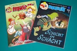 Comics, Science fiction, Fantasy, Abenteuer, Krimis, Western - MANGAS COMICS