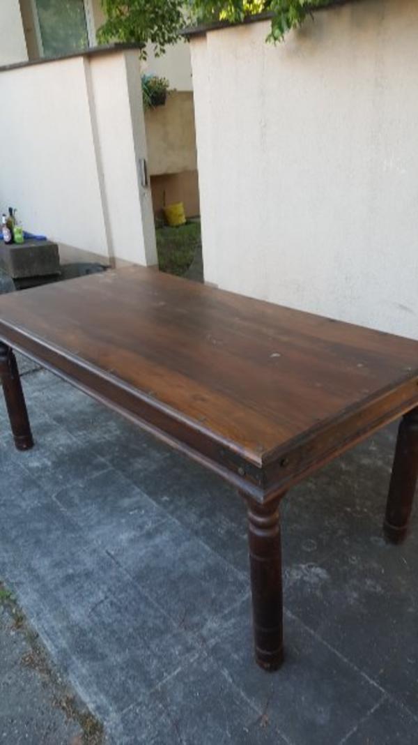 Tisch massivholz gebraucht kaufen nur 3 st bis 75 for Tisch gebraucht