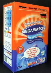 Mega Wasch Vollwaschmittel