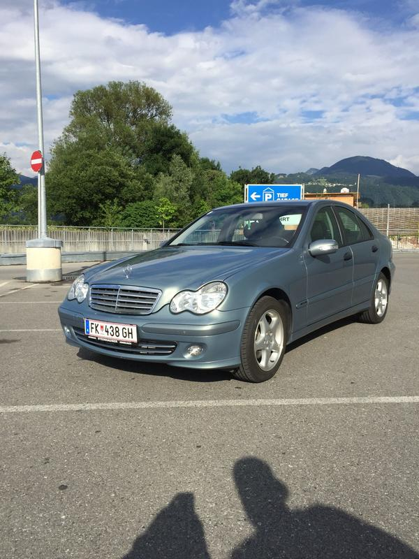 mercedes benz c200 cdi 76000km facelift modell in feldkirch mercedes c klasse kaufen und. Black Bedroom Furniture Sets. Home Design Ideas