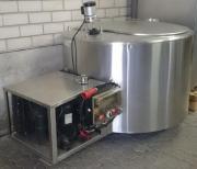 Milchkühler Milchkühlwanne Kühlaggregat
