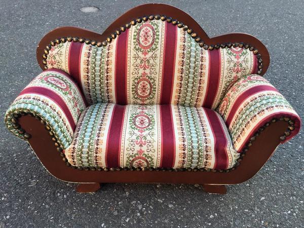 Mini Sofa ca 40x14x27cm Puppen