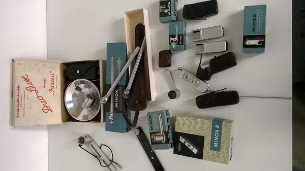 Minox Fotoapparat Modell B mit
