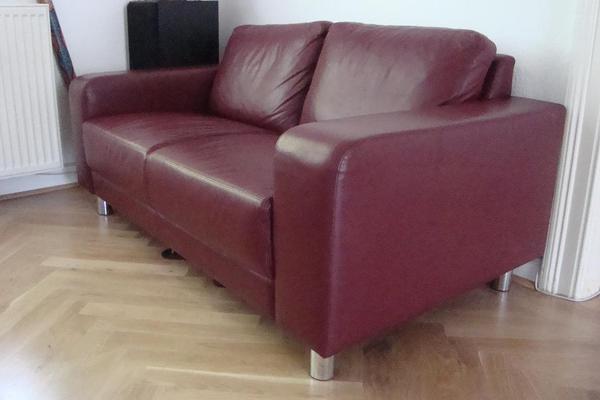 Moderne ledercouch  Moderne Ledercouch-Garnitur zu verkaufen einzeln oder komplett in ...