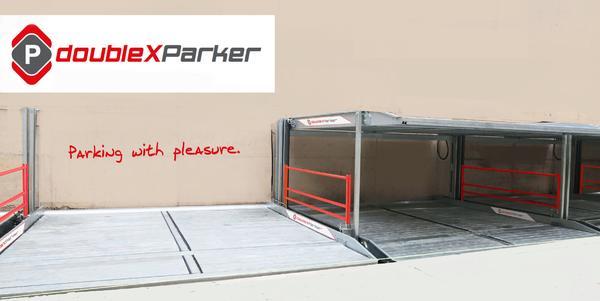 modernes parksystem doppelparker von doublexparker. Black Bedroom Furniture Sets. Home Design Ideas