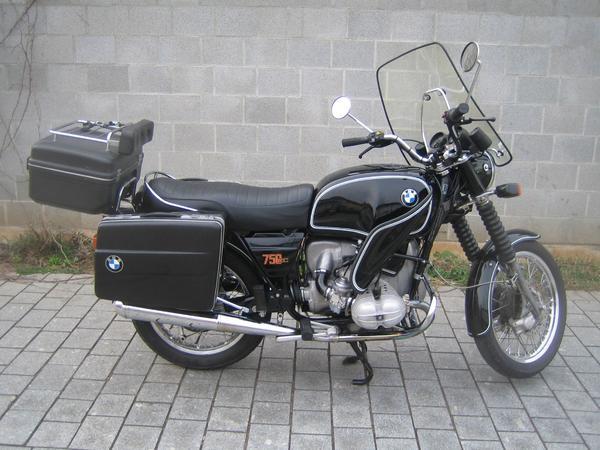 motorrad bmw r75 7 1000 ccm in f rth oldtimer. Black Bedroom Furniture Sets. Home Design Ideas