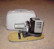 Musealer Dia-Projektor einsatzbereit