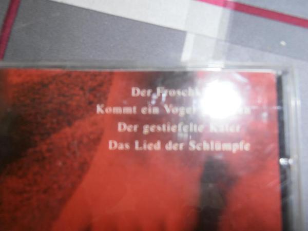 Musikkasetten und CD für Kinder