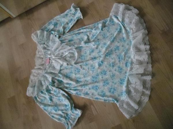 Nachtkleid Babydoll Romantische Nachthemd Gr