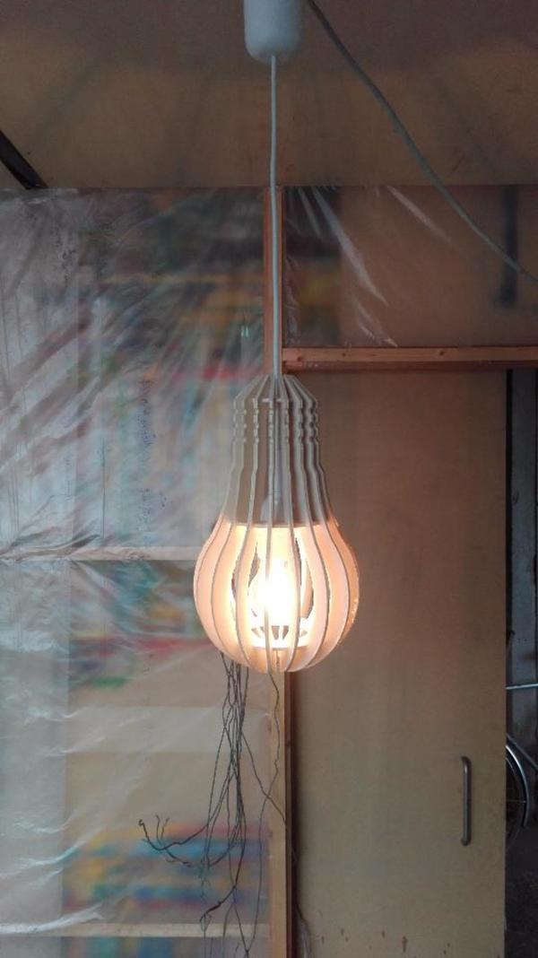 neue holzlampe in h chst lampen kaufen und verkaufen ber private kleinanzeigen. Black Bedroom Furniture Sets. Home Design Ideas