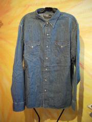 neuwertiges Ralph Lauren Jeans-Hemd Gr