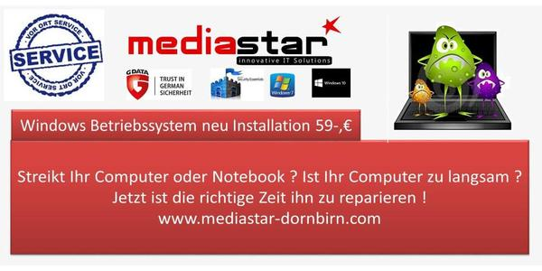 Notebook PC Reparatur schnell zuverlässig