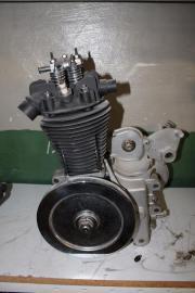 Oldtimer Chaise Motor