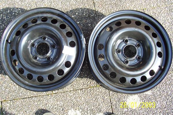 Opel-Stahlfelgen NEU - Landau - 2neue, 5Loch Felgen, 6X15/ET49/Lochkreis 110, sind vom Reserverad und wurden noch nicht benutzt! Bitte erst ab 17 Uhr anrufen! - Landau