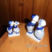 Original Delfter Blue 2 Paar
