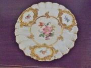 Original Meissen Porzellanteller Schale Prunkteller