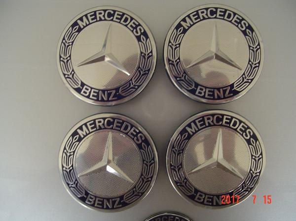 Original Mercedes Benz Nabendeckel Felgendeckel blau in Schwandorf ...