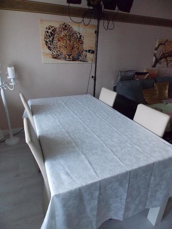 ostern angebote esstisch mit stühlen weiß hochglanz. ;-) in bad, Esstisch ideennn