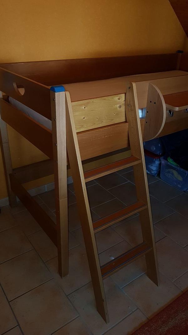 paidi hochbett rutsche gebraucht kaufen nur 2 st bis 65 g nstiger. Black Bedroom Furniture Sets. Home Design Ideas