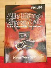 Philips KATALOG 1974/