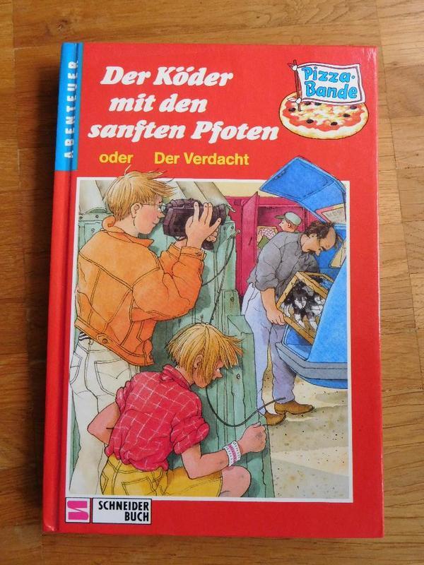 Pizza Bande - Der Köder mit den sanften Pfoten - Holzkirchen Neuerlkam - 1991, gebraucht - Nichtraucherhaushalt - Holzkirchen Neuerlkam