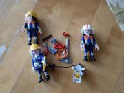 Playmobil diverse Feuerwehrfiguren 3 Stück