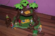 Playmobil Höhle Baumhaus