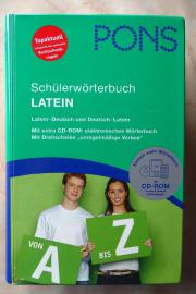 PONS Schülerwörterbuch Latein NEU