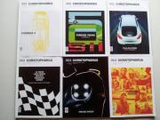 Porsche Christophorus 6 Stück Fachzeitschrift