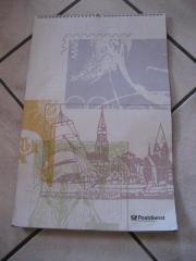Postdienst Kalender von 1993 mit