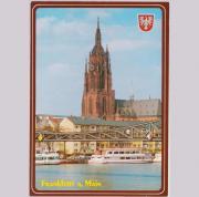 Postkarte Dom Frankfurt am Main