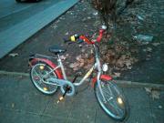 Puky fahrrad rot