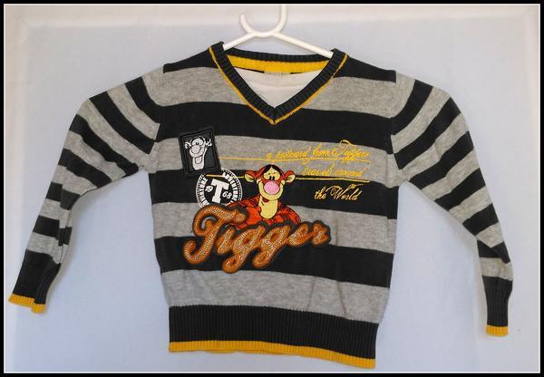 Gebraucht, Pullover C&A Disney Größe 92 Tigger gebraucht kaufen  82229 Seefeld