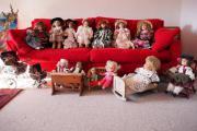 Puppen, diverse